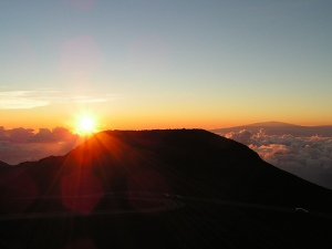Sunrise- Mt. Haleakala, Maui